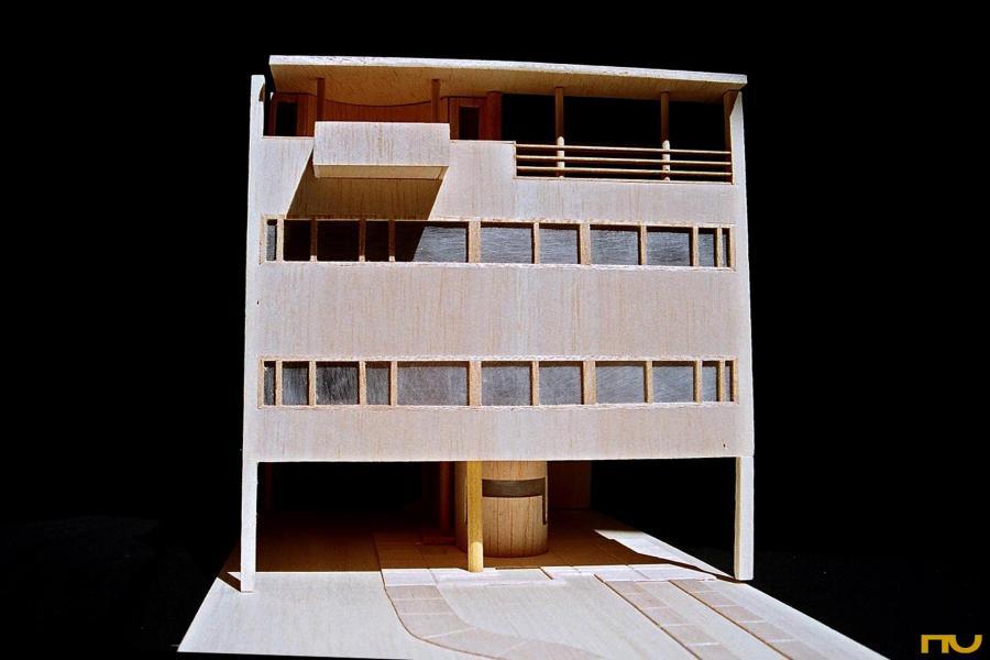 Histria en obres portal de historia de la arquitectura - Casas de le corbusier ...